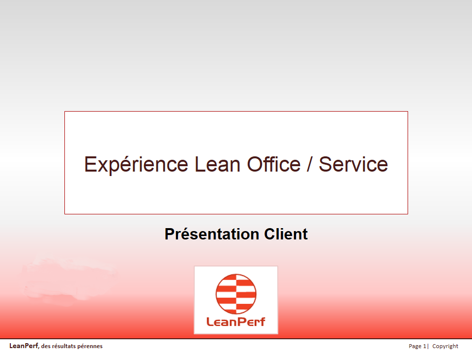 R Exp LeanPerf Lean Office Service v6001