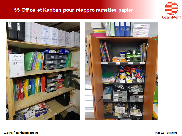exemple de 5S office
